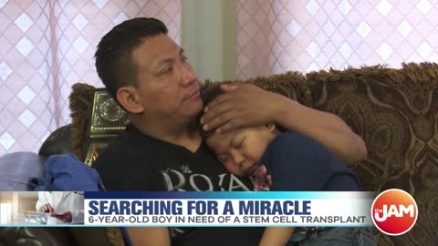 A 6-Year-Old Boy Is Searching For A Miracle Matching Donor To Cure His Disease