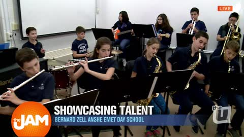 Bernard Zell Anshe Emet Day School Jazz Band and Choir