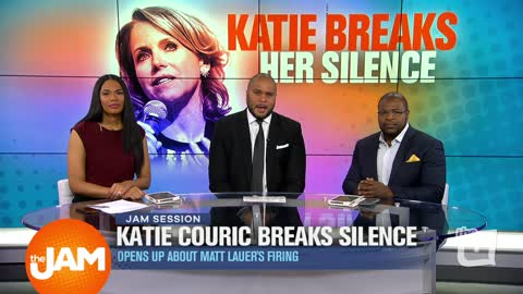 Katie Couric Opens up about Matt Lauer's Firing