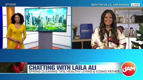 Laila Ali Talks Healthy Living & Iconic Father