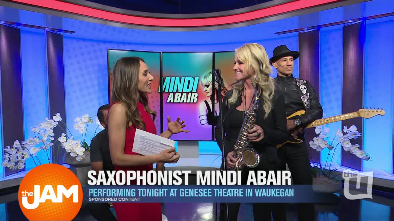Mindi Abair Performs her song 'Vinyl'