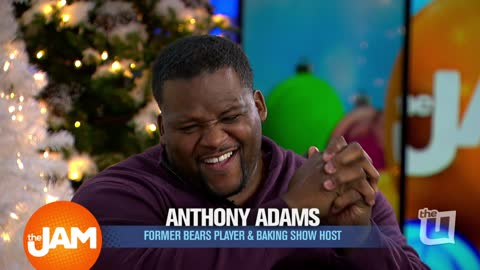 Former Chicago Bear's player and Baking TV Host - Anthony 'Spice' Adams - Joins Jam Session