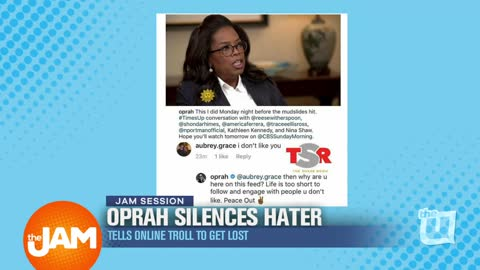 Oprah Silences Hater and Tells online Troll to get Lost