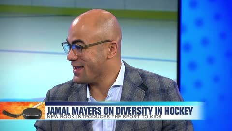 Jamal Mayers Talks Diversity In Hockey