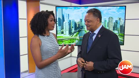Rev. Jesse Jackson Comments on Mayor Lori Lightfoot