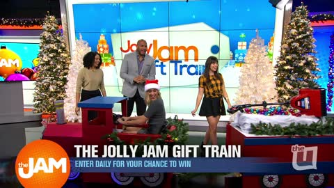 Jolly Jam Gift Train | Day 12