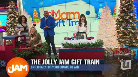 Jolly Jam Gift Train | Day 13