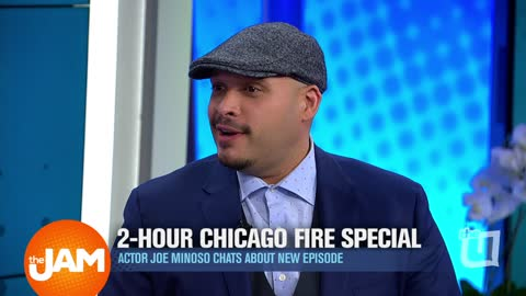 Chicago Fire Star Joe Minoso Talks Special Mash-Up and More!