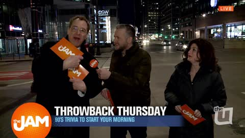 Throwback Thursday Trivia on the Streets with Jon Hansen