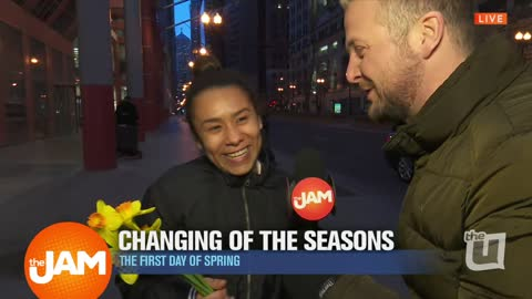 The Changing of the Seasons with Jon Hansen on the Street