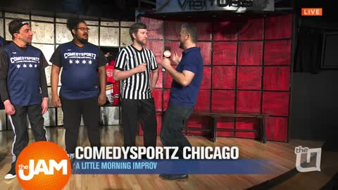 Jon Hansen gets 'Punny' with ComedySportz Chicago