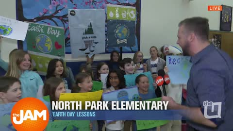 Earth Day Celebrations with North Park Elementary
