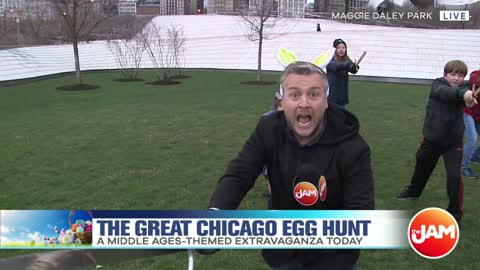 The Great Chicago Egg Hunt