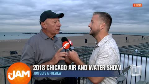 Jon Gets a Look at the 2018 Chicago Air and Water Show