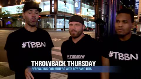 Throwback Thursday: Hittin'  The Streets of Chicago with The Boy Band Night!