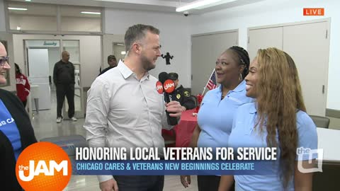 Jon Honoring Local Veterans for Services