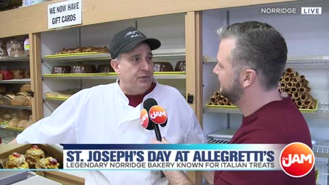 St. Joseph's Day at Allegretti's Bakery
