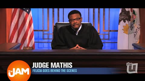 Felicia goes Behind the Scenes with Judge Mathis