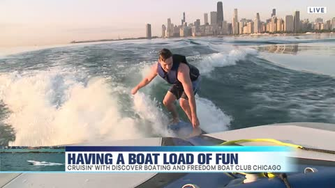 Cruisin' with Discover Boating and Freedom Boat Club Chicago