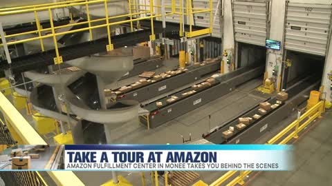 Free Tours at Amazon Fulfillment Center