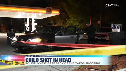 Boy in Critical Condition After Being Shot in Head