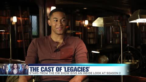 'Legacies' Cast Chats Season 2