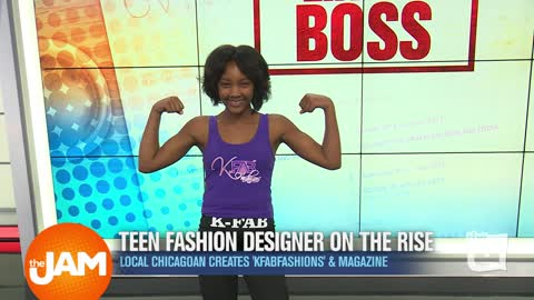 Like a Boss | Teen Fashion Designer On the Rise