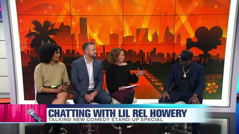 Chatting with Lil Rel Howery