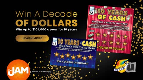 Lotto Decade of Dollars