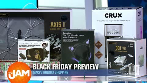 Macy's Brings The Jam a Black Friday Preview