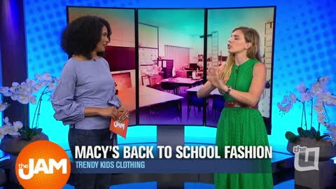 Macy's Back to School Fashion