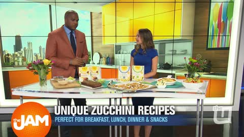 Maggie Michalczyk with Zucchini Recipes