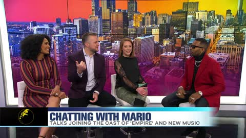 R&B Singer Mario Talks Joining the Cast of 'Empire'