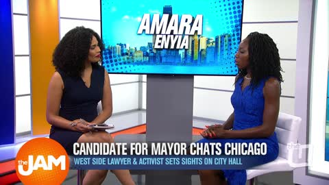 Candidate for Mayor Amara Enyia Chats Chicago