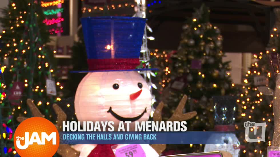 wciu the u make holiday memories with menards