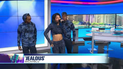 MicahBlu Performs Newest Single 'Jealous'