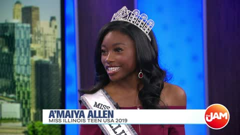Miss Illinois Teen USA 2019 A'Maiya Allen