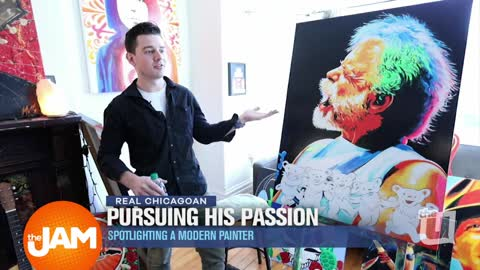 Real Chicagoan | Modern Painter Mike Skrobin