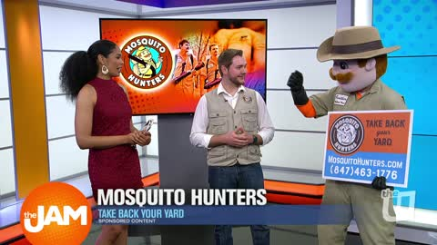 Take Back Your Yard With 'Mosquito Hunters'