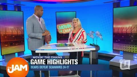 Bears VS Seahawks Game Highlights