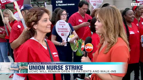 Registered Nurse says the strike is an emotional time in history