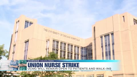 Day one: UCMC nurses on strike