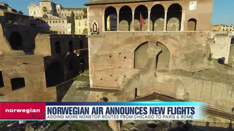 Norwegian Air Announces New Flights