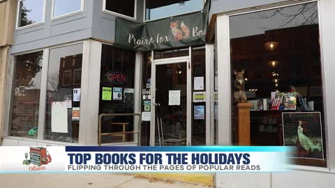 Top books for the Holidays at Prairie Fox Books