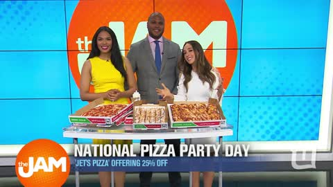 National Pizza Party Day
