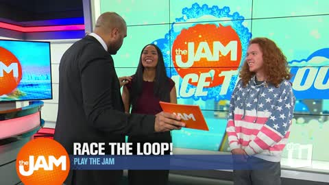 Play the Jam: Race the Loop Winter Addition with Ryan