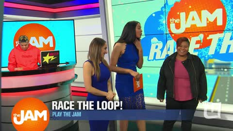 Play the Jam: Race the Loop Winter Version with Patrice