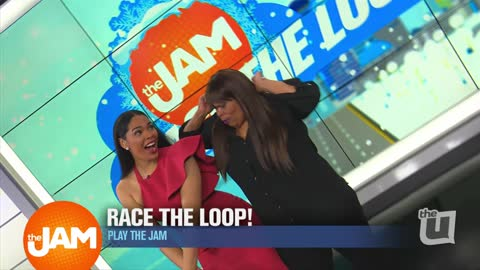 Play the Jam: Race the Loop Winter Version with Venessa