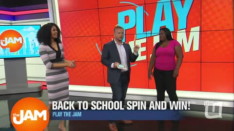 Play The Jam: Spin and Win with Patricia
