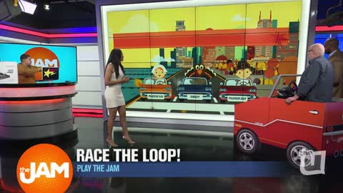 Play the Jam -  Race the Loop Thanksgiving Addition with Ron